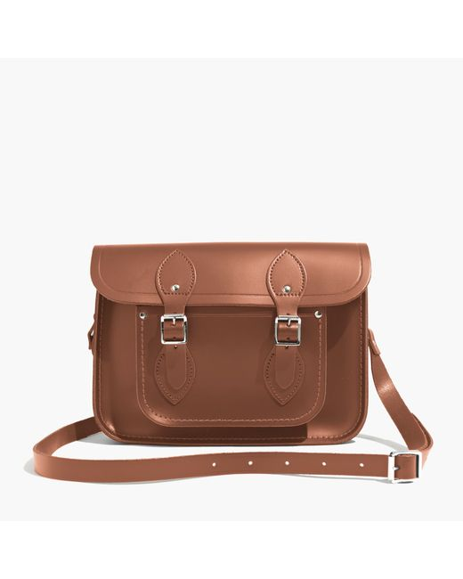"Madewell | Brown The Cambridge Satchel Company® 11"" Classic Satchel Bag | Lyst"