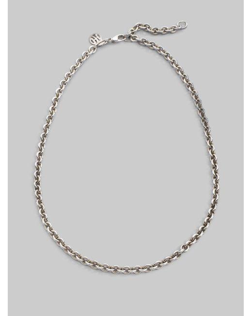 John Hardy | Metallic Sterling Silver Necklace | Lyst