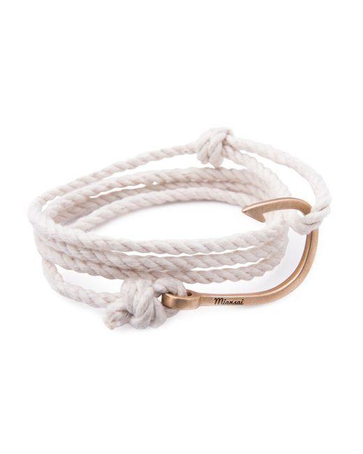 Miansai | Natural Hook Rope Bracelet for Men | Lyst