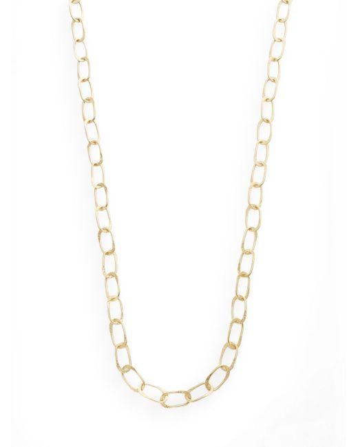 "Stephanie Kantis | Metallic Sovereign Chain Necklace/42"" | Lyst"