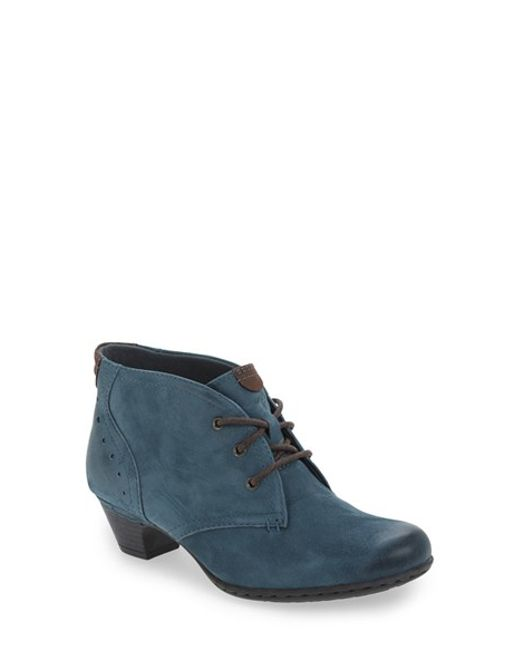 Cobb Hill | Blue Cobb Hill 'aria' Leather Boot | Lyst