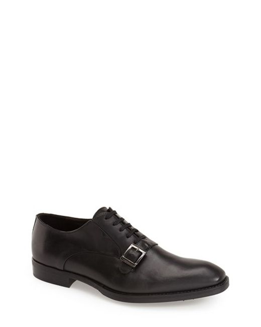 Bacco Bucci | Black 'baku' Plain Toe Oxford for Men | Lyst