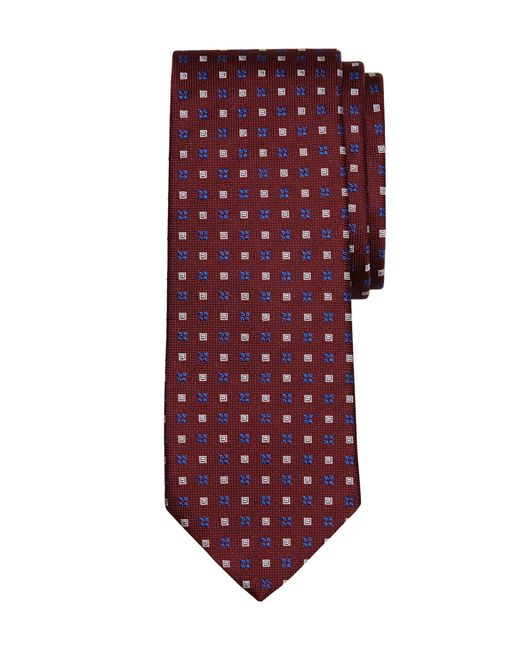 Brooks Brothers | Red Flower And Square Tie for Men | Lyst