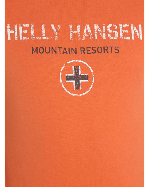 Helly Hansen | Orange Jotun Graphic T-shirt for Men | Lyst
