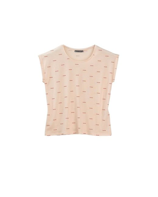 Petit Bateau | Natural Women's Light Cotton Tee With 'marin' Print | Lyst