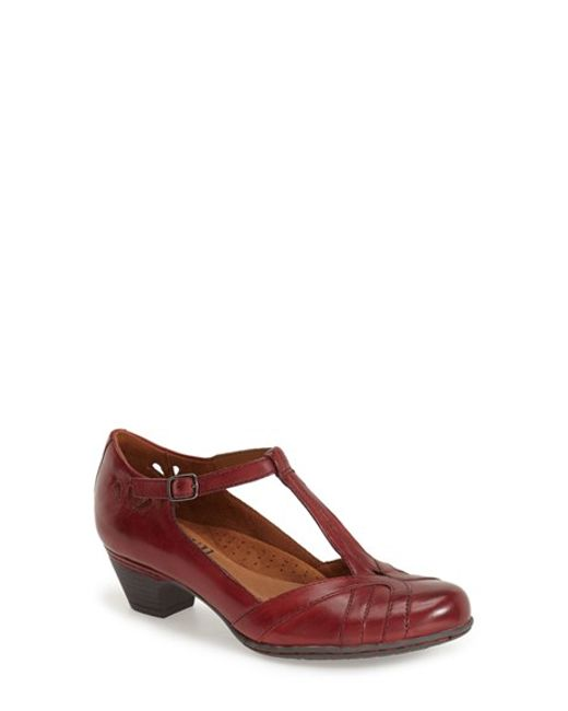 Cobb Hill | Purple Angelina Leather Pumps | Lyst
