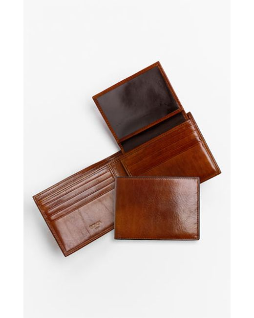 Bosca | Brown Id Passcase Wallet for Men | Lyst