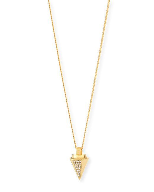 Vita Fede | Metallic Thea Crystal Necklace | Lyst