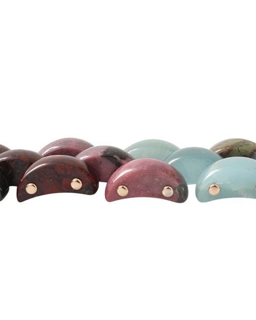 Federica Rettore   Multicolor Alba Panthere Bracelet   Lyst
