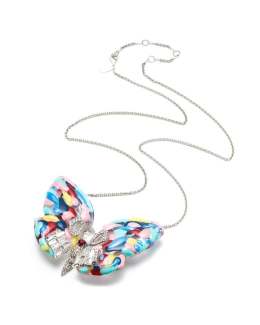 Alexis Bittar | Multicolor Bradley Theodore Butterfly Necklace You Might Also Like | Lyst