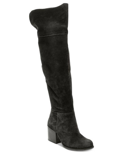 Steve Madden | Black Women's Orabela Over-the-knee Boots | Lyst