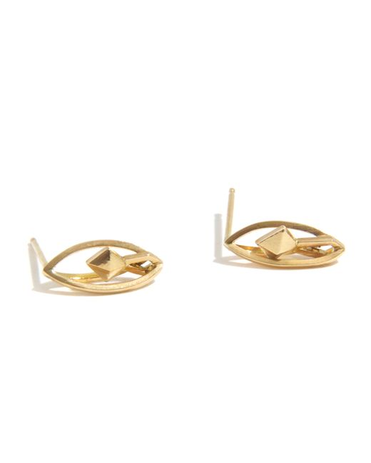 Melissa Joy Manning | Metallic Marquee Wire Earrings By Mute Object | Lyst