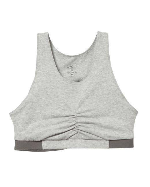 Alternative Apparel | Gray Peekaboo Stretch Bra | Lyst