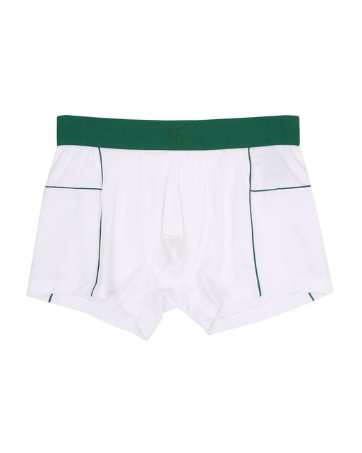 Lacoste | White Motion Motion Trunk for Men | Lyst