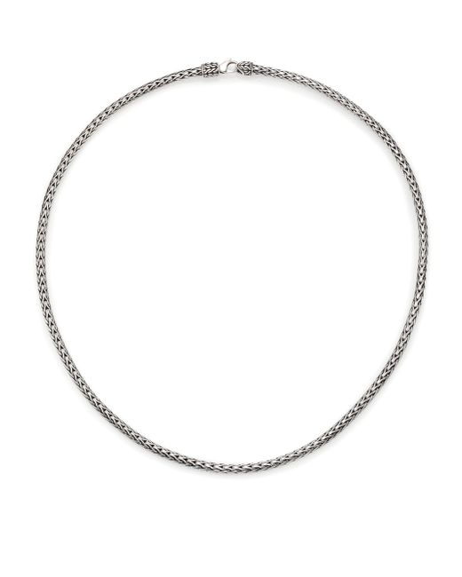 John Hardy | Metallic Classic Chain Sterling Silver Slim Necklace/18 | Lyst