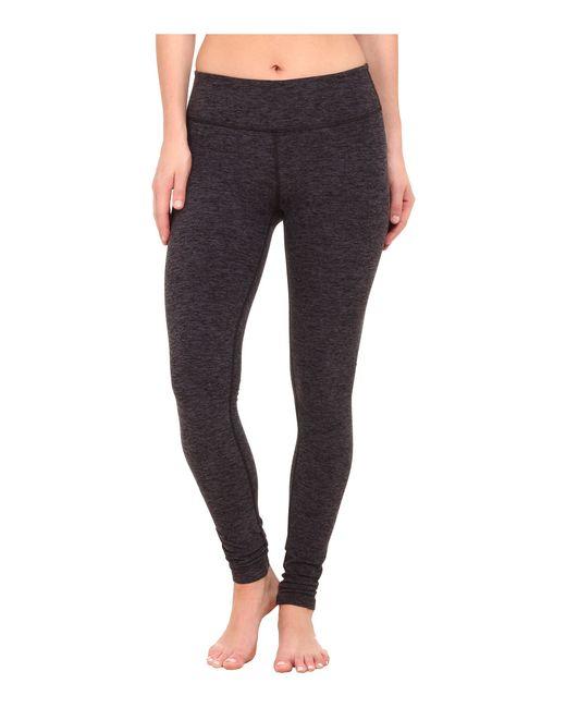 Beyond Yoga   Black Spacedye Long Essential Leggings   Lyst