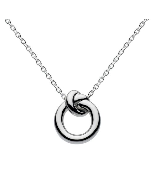 Kit Heath | Metallic Sterling Silver Knot Necklace | Lyst
