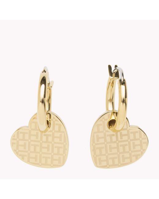 Tommy Hilfiger   Multicolor Heart Earrings   Lyst