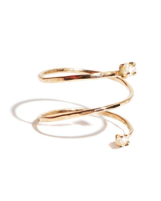 Melissa Joy Manning   Metallic Pearl Spiral Ring   Lyst