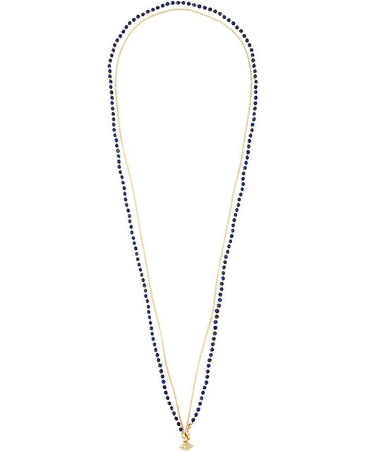 Astley Clarke | Blue 'evil Eye Biography' Diamond Necklace | Lyst