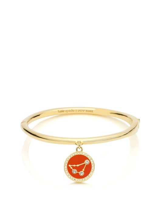 Kate Spade | Multicolor In The Stars Capricorn Bangle | Lyst