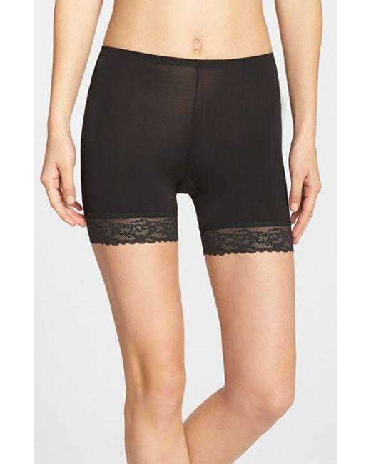 Hanky Panky | Black Silky Skin Biker Shorts | Lyst