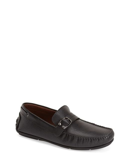 Bacco Bucci | Black 'polis' Driving Shoe for Men | Lyst