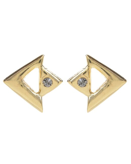 Jill Golden | Yellow Apex Studs | Lyst