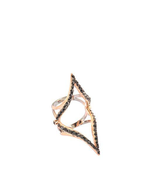 Katie Rowland | Metallic Parisian Dip Dye Knuckle Ring | Lyst