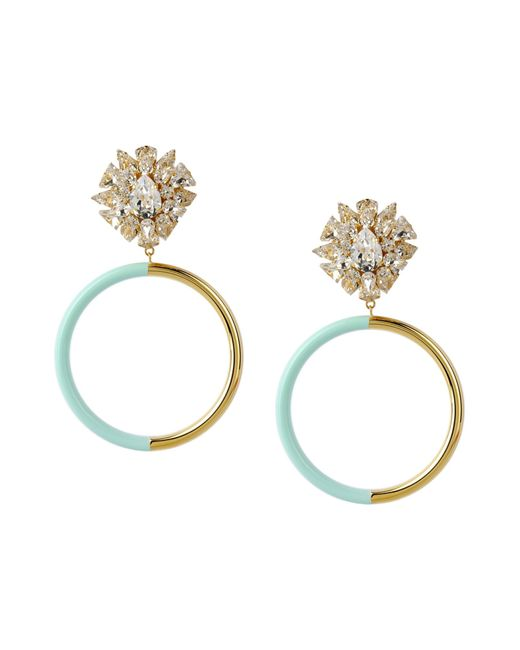 Shourouk | Green Earrings | Lyst