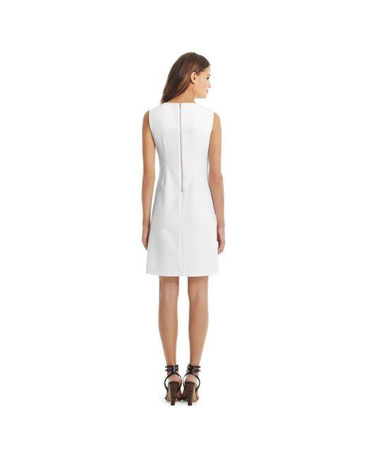 Diane von Furstenberg   White Carrie Shift Dress   Lyst