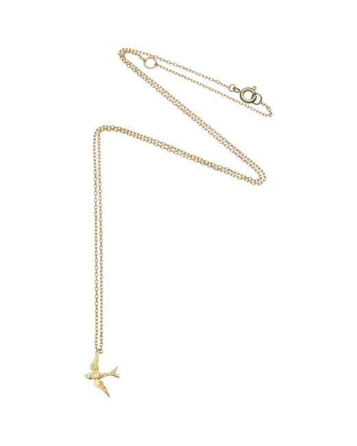 Estella Bartlett | Metallic Fine Swallow Pendant | Lyst