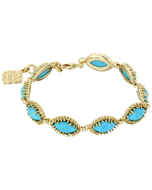 Kendra Scott | Blue Jana Bracelet | Lyst