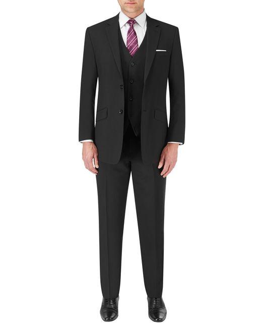 Skopes   Black Darwin Wool-blend Suit Waistcoat for Men   Lyst