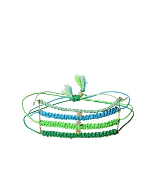 La Mome Bijou | Green Bracelet | Lyst