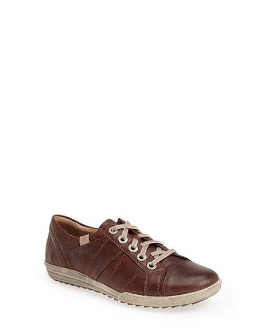 Josef Seibel | Brown 'dany 05' Leather Sneaker | Lyst