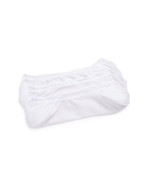 Calvin Klein | 3-pack No-show Socks, White for Men | Lyst