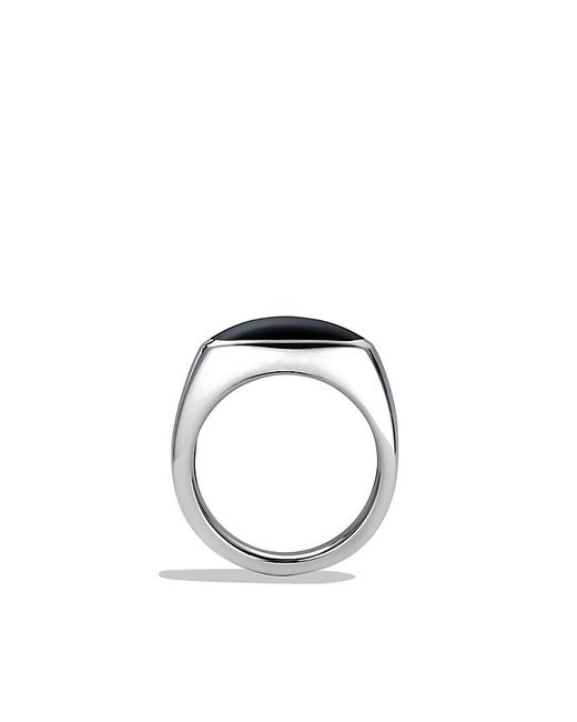 David Yurman   Exotic Stone Signet Ring With Black Onyx for Men   Lyst