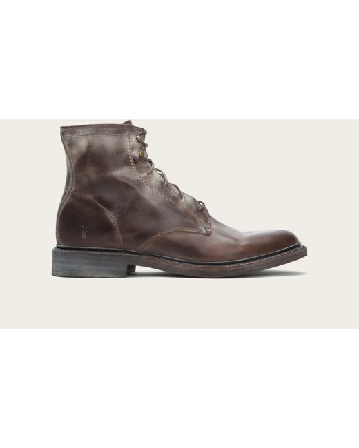 Frye   Brown James Lace Up for Men   Lyst