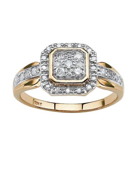 Palm Beach Halo Ring