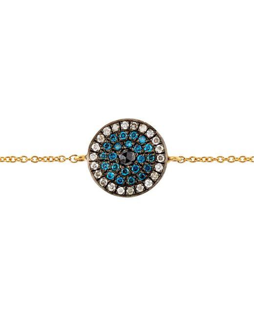 Annoushka | Blue Love Diamonds Evil Eye Bracelet | Lyst