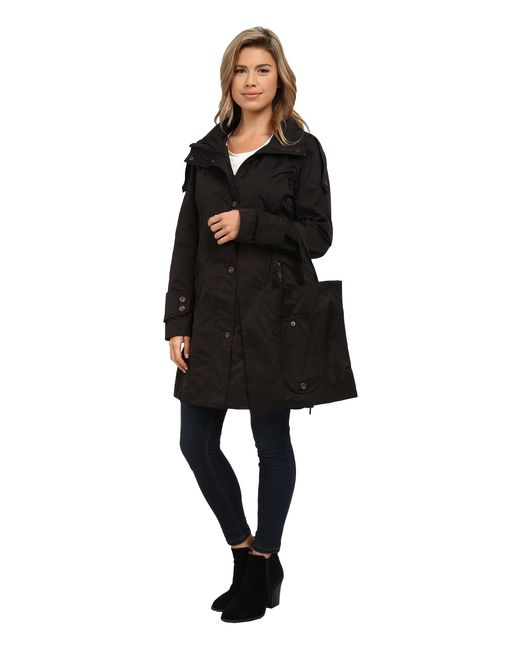 Rainforest | Black Packable Modern Trench | Lyst