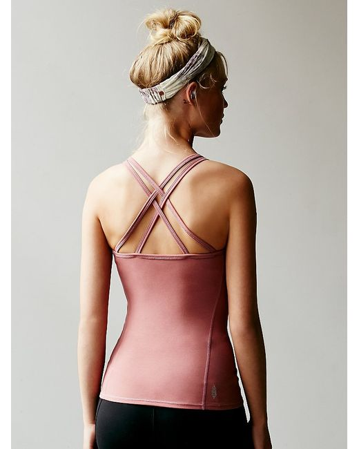 Free People | Purple Strappy Top | Lyst