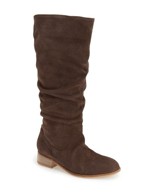 Charles by Charles David | Brown 'joan' Tall Boot | Lyst