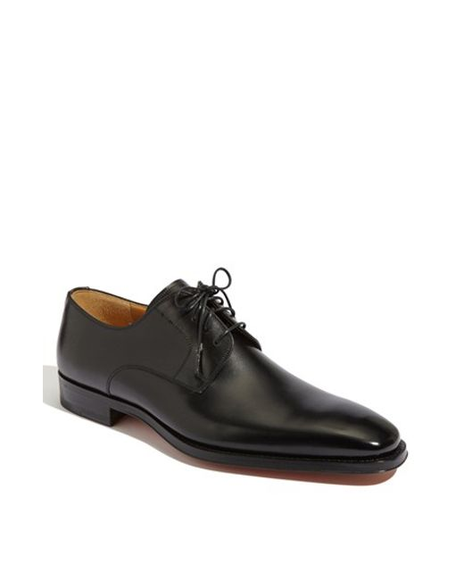 Saks Fifth Avenue | Black 'colo' Plain Toe Derby for Men | Lyst