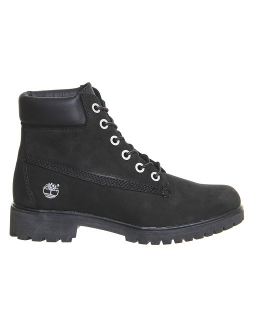 timberland classic leather premium boots in black save