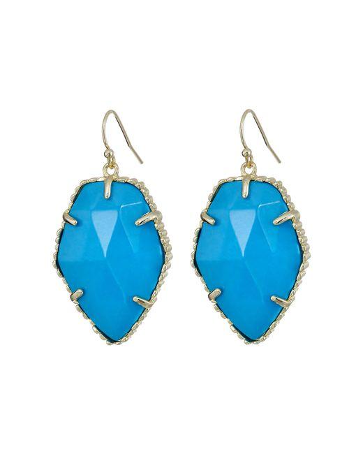 Kendra Scott   Blue Corley Earring   Lyst