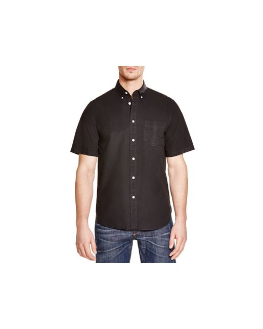 Rag bone standard issue regular fit button down shirt in for Rag and bone mens shirts sale