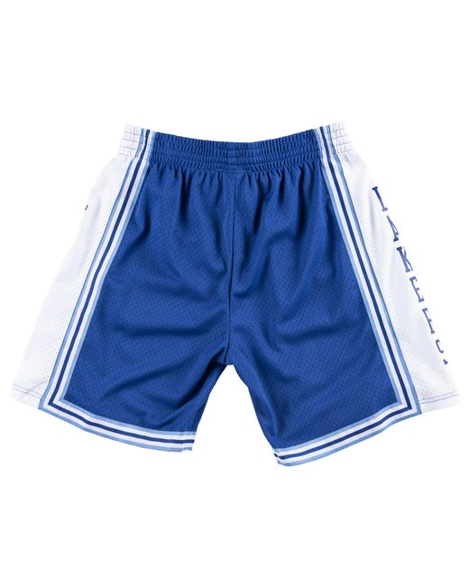 753a80a60474 ... Mitchell & Ness - Blue Los Angeles Lakers Nba Swingman Shorts for Men -  Lyst