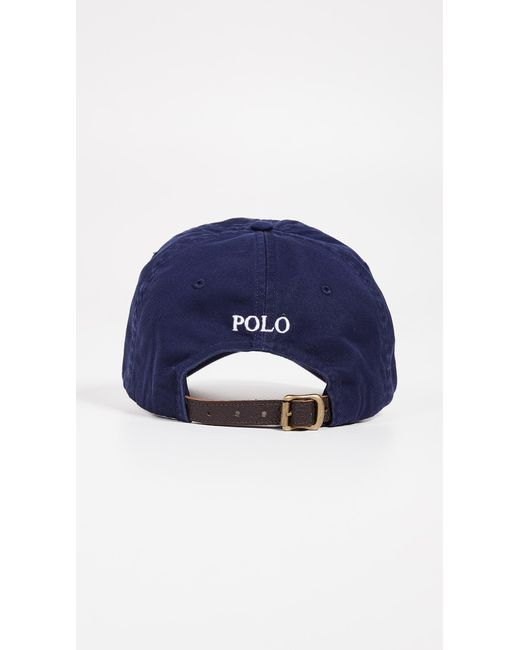 1c1d65a4602 ... Polo Ralph Lauren - Blue Big Pony Cap for Men - Lyst ...
